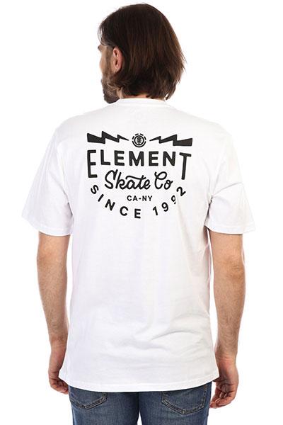 Футболка Element Zap Ss Tee Ftm Optic White