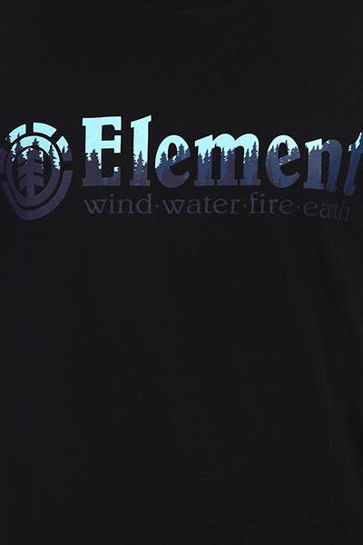 Футболка Element Glimpse Horizontal Flint Black