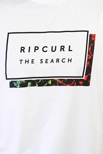 Футболка Rip Curl Pro Model Ss Tee Optical White