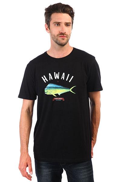 Футболка Rip Curl Surfing States Ss Tee Black