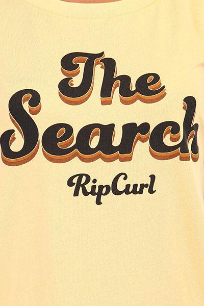 Футболка Rip Curl Keep Searching Tee Mustard