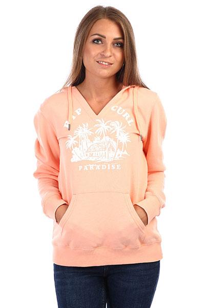 Толстовка кенгуру женская Rip Curl Rc Paradise Fleece Peach Nectar