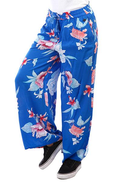 Штаны прямые Rip Curl Infusion Flower Pants Brilliant Blue