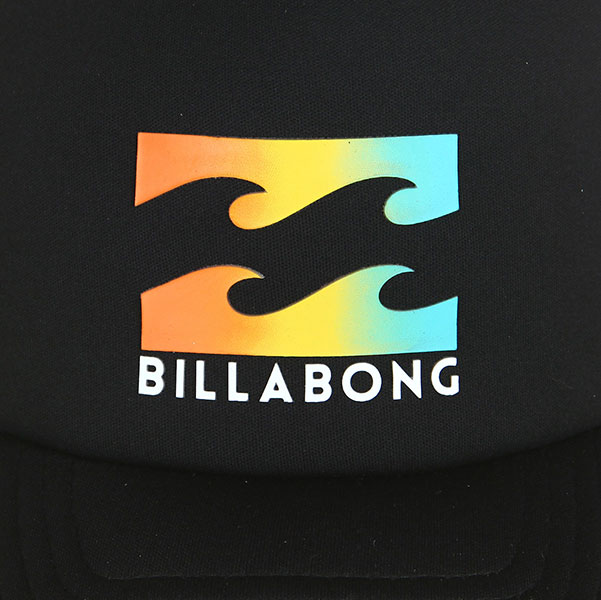 Бейсболка с сеткой Billabong Podium Trucker Black/Yellow