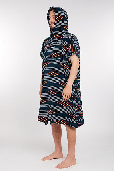 Полотенце Billabong HOODED PONCHO NAVY