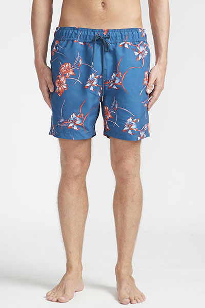 Шорты Billabong ALL DAY FLORAL NAVY