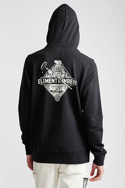 Толстовка кенгуру Element Rolling Ho Off Black