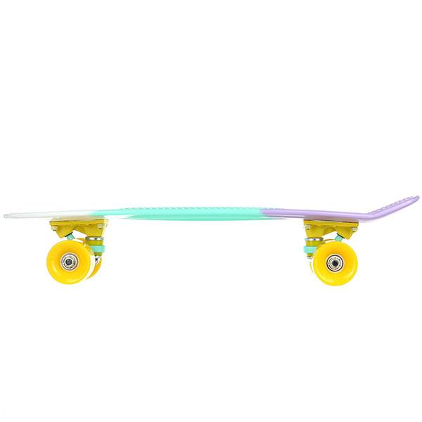 Скейт мини круизер Пластборды Bitter 1 Multi 6 x 22 (55.9 см)