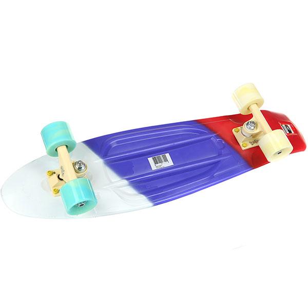 Скейт мини круизер Пластборды Flag 3 Multi 7.5 x 27 (68.5 см)