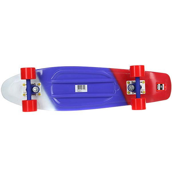 Скейт мини круизер Пластборды Flag 2 Multi 7.5 x 27 (68.5 см)