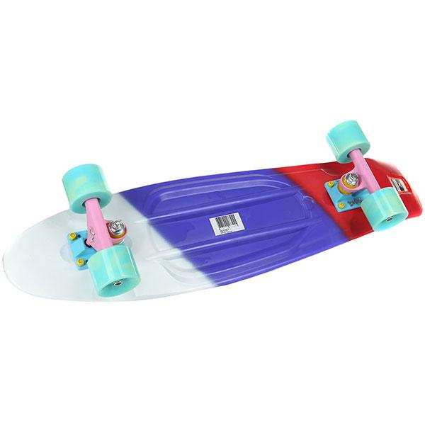 Скейт мини круизер Пластборды Flag 4 Multi 7.5 x 27 (68.5 см)