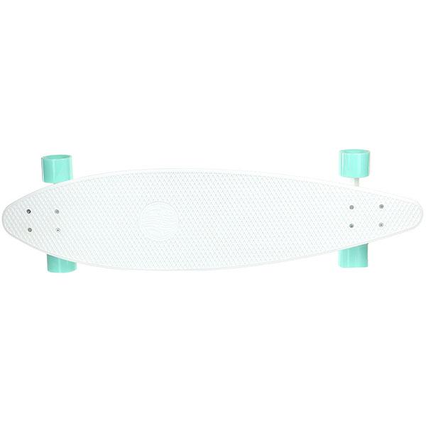 Скейт мини круизер Пластборды Snow 3 White 9.25 x 36 (91.4 см)