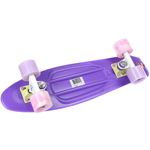 Скейт мини круизер Пластборды Wild 4 Purple 6 x 22 (55.9 см)