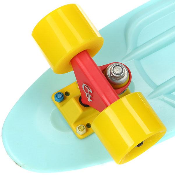Скейт мини круизер Пластборды Goi 13 Light Blue 6 x 22 (55.9 см)