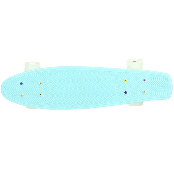 Скейт мини круизер Пластборды Goi 5 Light Blue 6 x 22 (55.9 см)