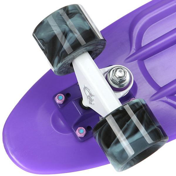 Скейт мини круизер Пластборды Wild 7 Purple 6 x 22 (55.9 см)