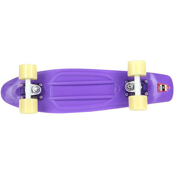 Скейт мини круизер Пластборды Wild 3 Purple 6 x 22 (55.9 см)