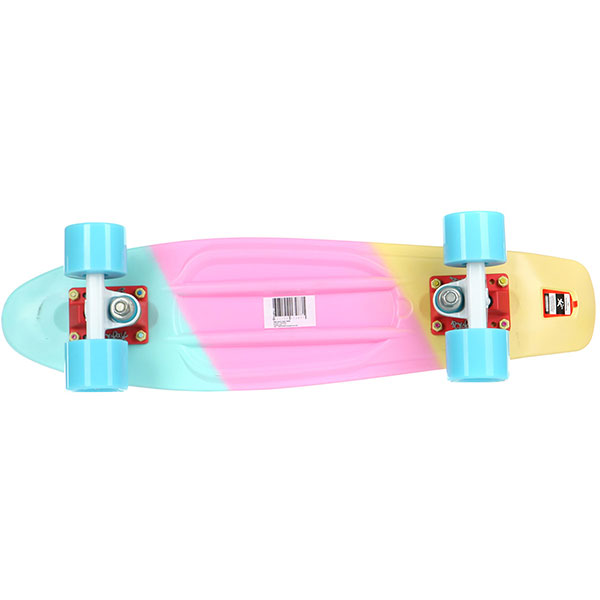 Скейт мини круизер Пластборды Sweet 2 Multi 6 x 22 (55.9 см)