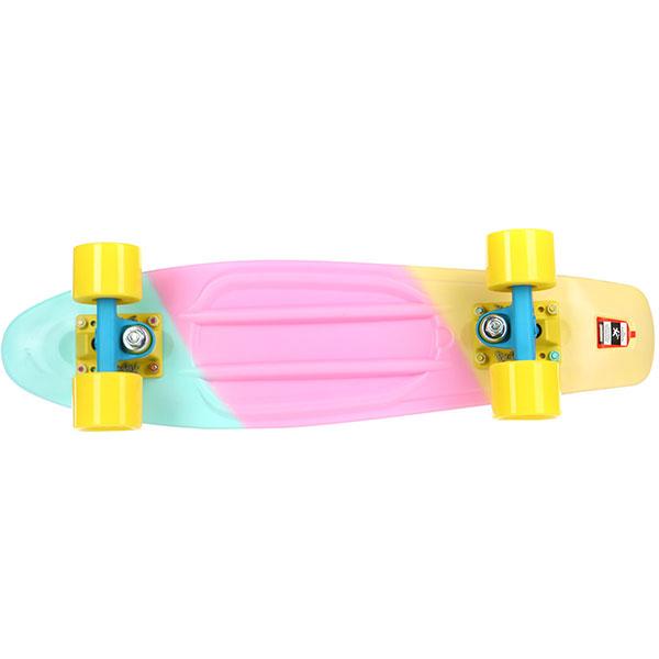 Скейт мини круизер Пластборды Sweet 1 Multi 6 x 22 (55.9 см)