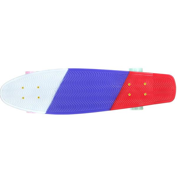 Скейт мини круизер Пластборды Flag 1 Multi 7.5 x 27 (68.5 см)