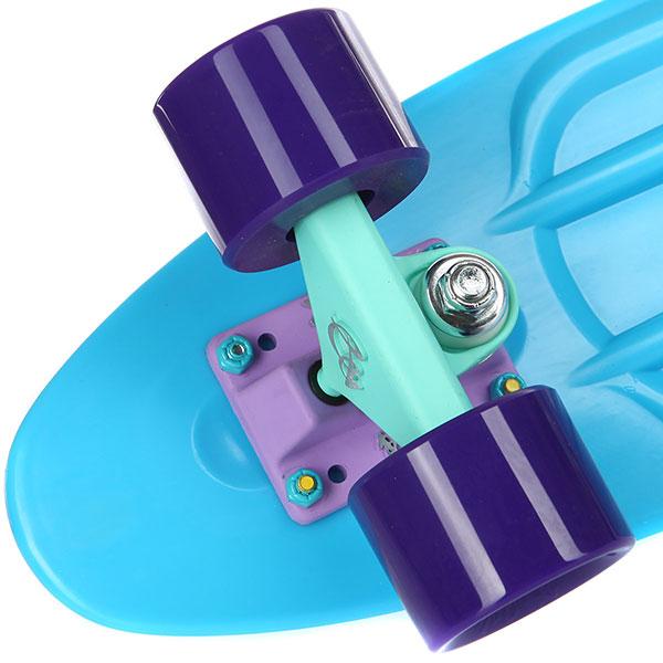 Скейт мини круизер Пластборды Stream 2 Blue 6 x 22 (55.9 см)