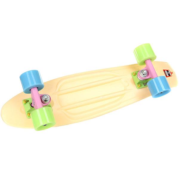 Скейт мини круизер Пластборды Sand 4 Beige 6 x 22 (55.9 см)