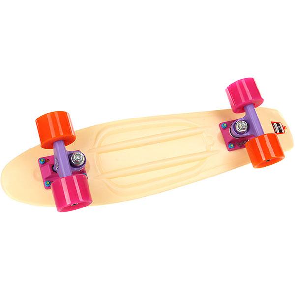 Скейт мини круизер Пластборды Sand 6 Beige 6 x 22 (55.9 см)