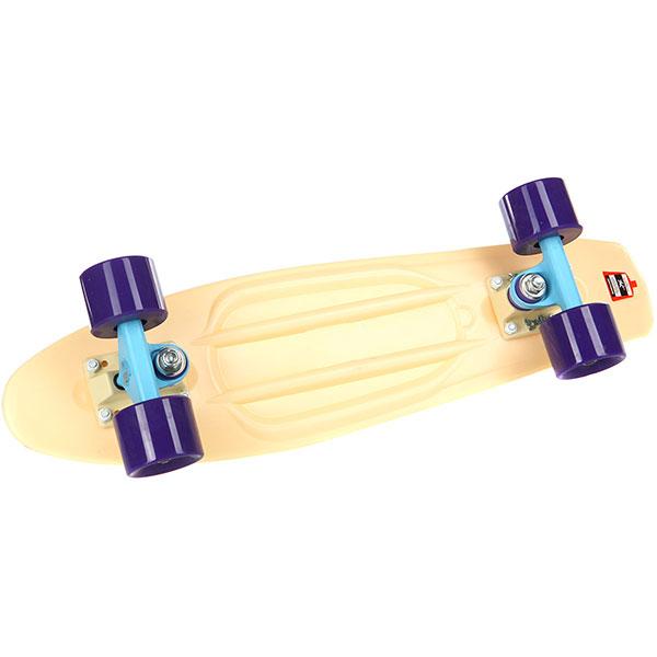 Скейт мини круизер Пластборды Sand 2 Beige 6 x 22 (55.9 см)