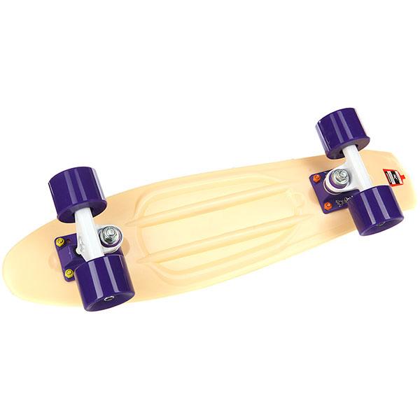 Скейт мини круизер Пластборды Sand 7 Beige 6 x 22 (55.9 см)
