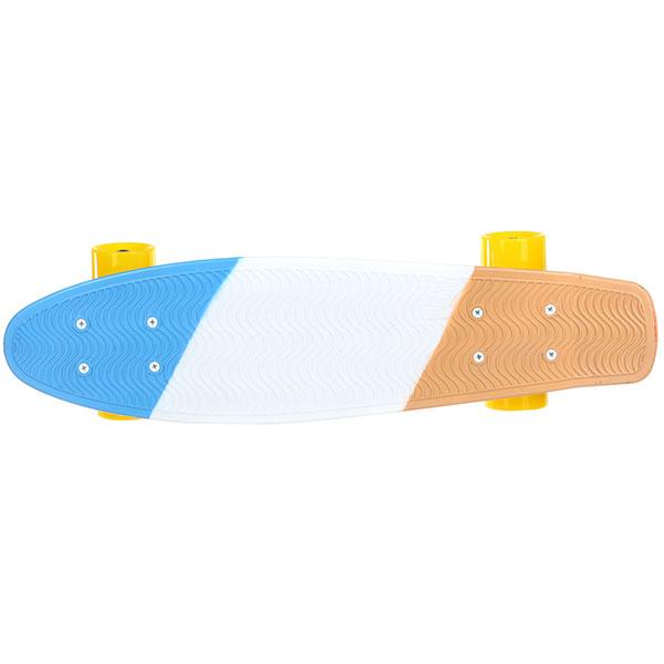 Скейт мини круизер Пластборды Stand 1 Multi 6 x 22 (55.9 см)