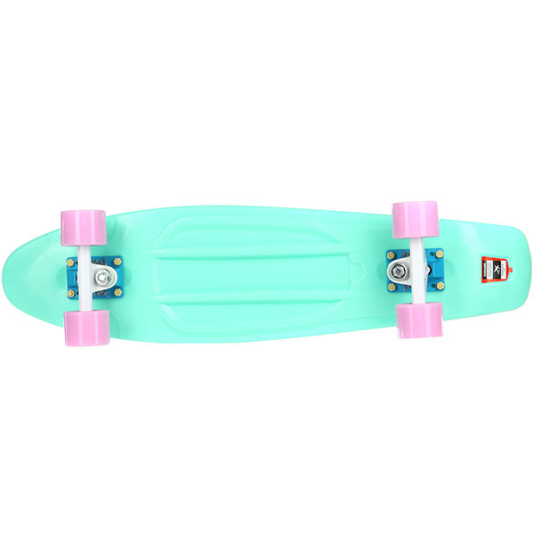 Скейт мини круизер Пластборды Mint 1 Light Blue 7.5 x 27 (68.5 см)
