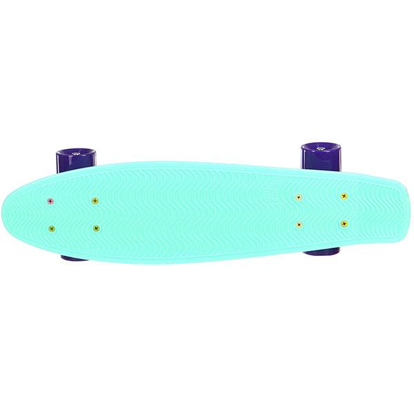 Скейт мини круизер Пластборды Mint 2 Light Blue 6 x 22 (55.9 см)