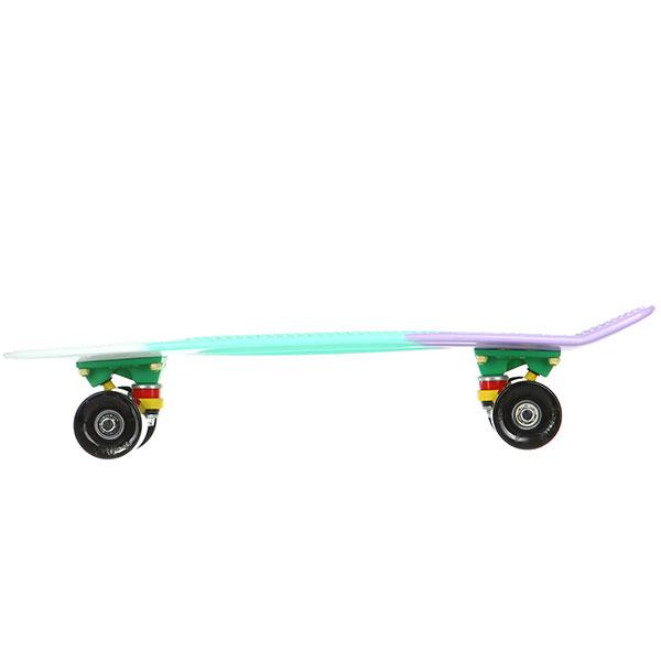 Скейт мини круизер Пластборды Bitter 4 Multi 6 x 22 (55.9 см)