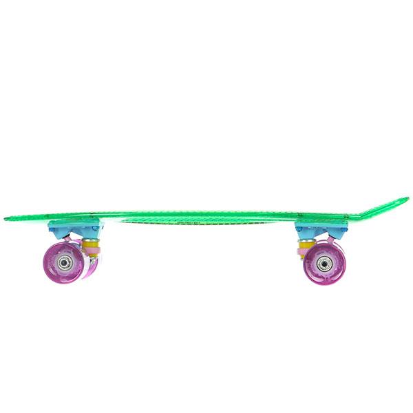 Скейт мини круизер Пластборды Grass 3 Green 6 x 22 (55.9 см)