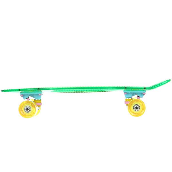 Скейт мини круизер Пластборды Grass 2 Green 6 x 22 (55.9 см)