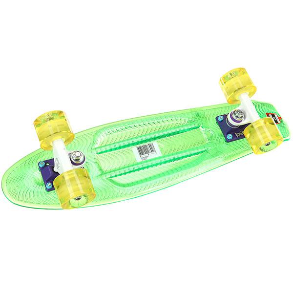 Скейт мини круизер Пластборды Grass 7 Green 6 x 22 (55.9 см)