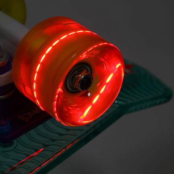 Скейт мини круизер Пластборды Transparent 1 Fresh 6 x 22 (55.9 см)