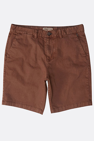 Шорты Billabong NEW ORDER WAVE WASH RUST BROWN