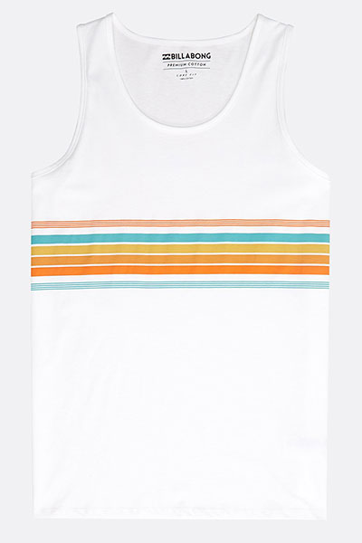 Майка Billabong Team Stripe Tank White