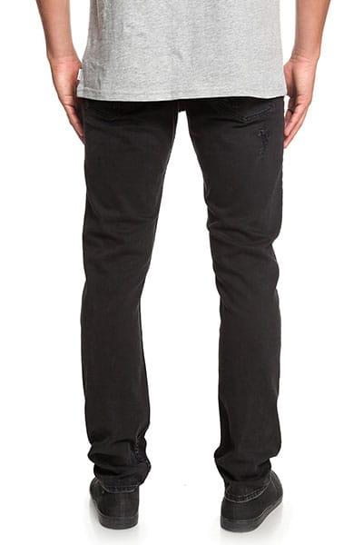 Узкие джинсы QUIKSILVER Distorsion Stranger Black