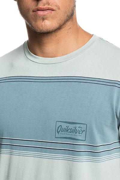 Футболка QUIKSILVER Gradient Stripe