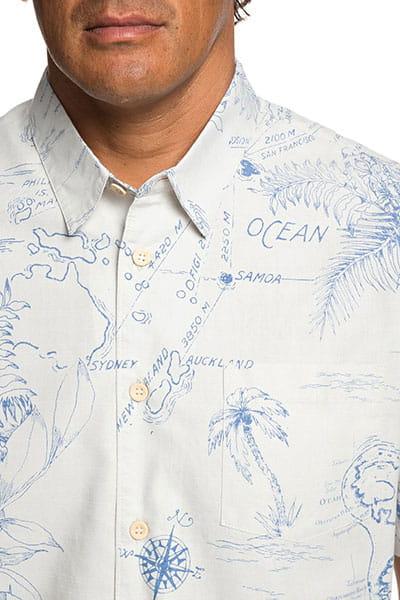 Рубашка QUIKSILVER с коротким рукавом Waterman Pacific Records