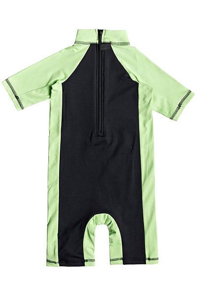 Детский QUIKSILVER слитный рашгард с коротким рукавом Spring UPF