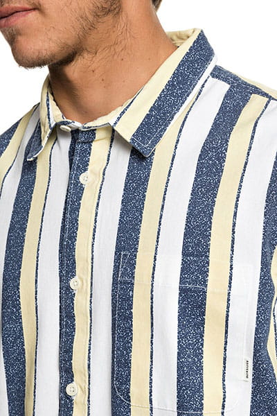 Рубашка QUIKSILVER с коротким рукавом Cisco Inferno