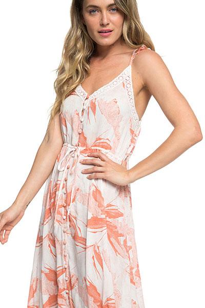 Платье женское Roxy Hot Summer Land J Marshmallow Jungle