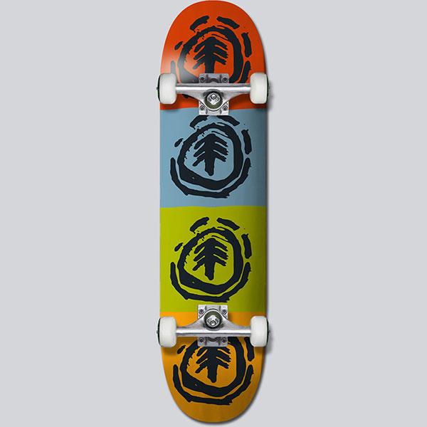 Скейтборд в сборе Element Fos Quadrant 7.5 Assorted