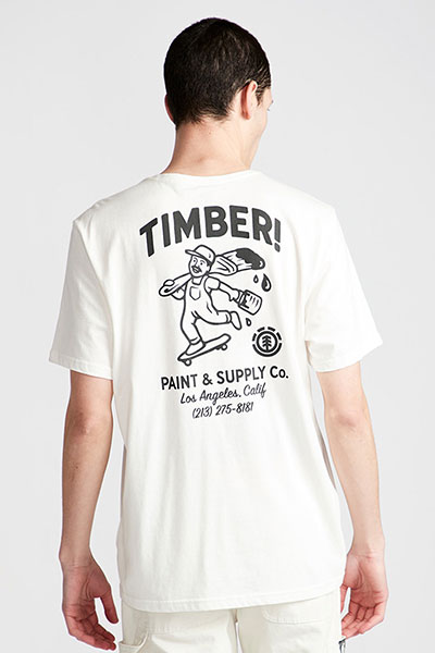 Футболка Element Supply Co White
