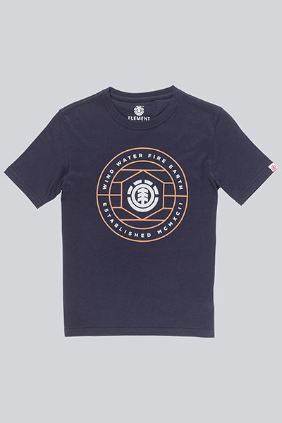 Футболка детская Element Swivel Ss Boy Eclipse Navy