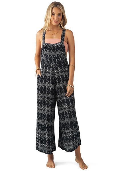 Комбинезон женский Rip Curl Sari Printed Jumpsuit Black