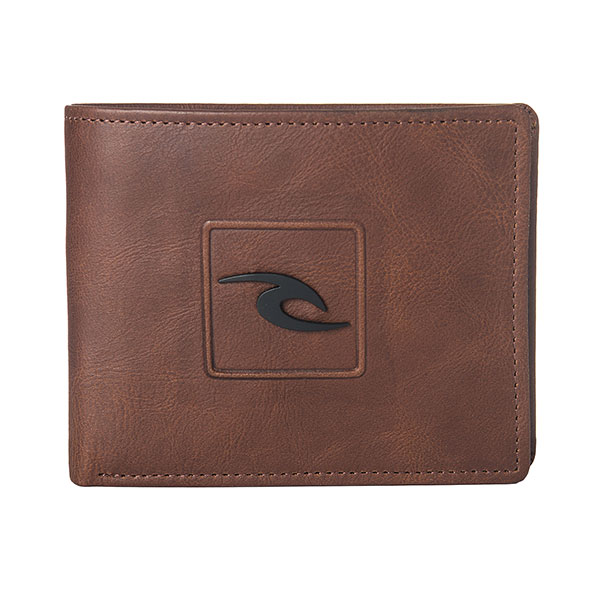 Кошелек Rip Curl Rider Rfid 2 In 1 Brown